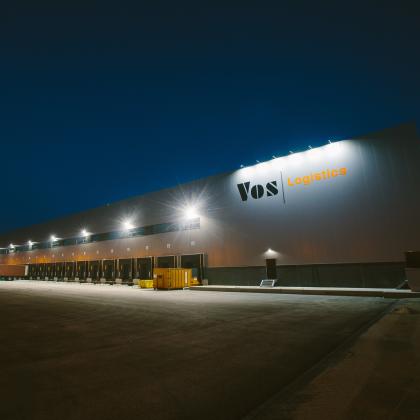 Contractlogistiek van Vos groeit met nieuw dc