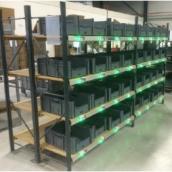 Docdata zet pick to light op orderverdeelkasten
