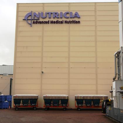Nutricia haalt met modal shift 4.000 trucks van de weg