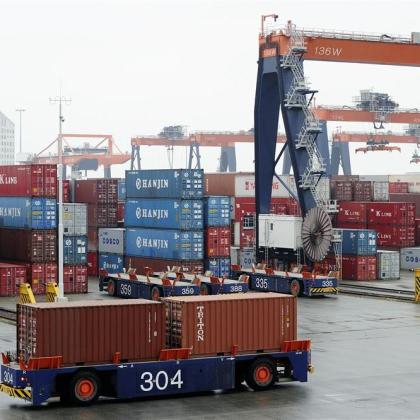 ECT neemt maatregelen tegen congestie haven Rotterdam