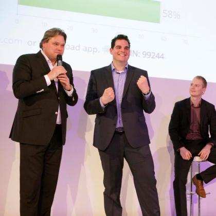 Mario Wopereis wint met verve prijs Jong Logistiek Talent
