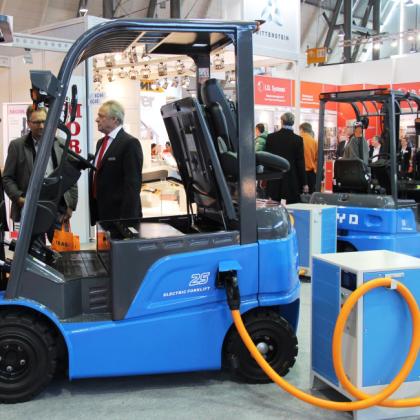 Eerste BYD heftrucks beschikbaar in Nederland
