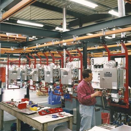 Invloed van productiewijze op materials handling