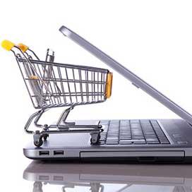 Crisis krijgt geen grip op internetverkoop