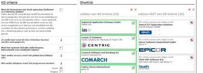 6. Tools voor ERP-selectie