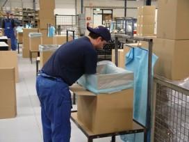 'Een derde van de verstuurde pakketten is onnodig groot'