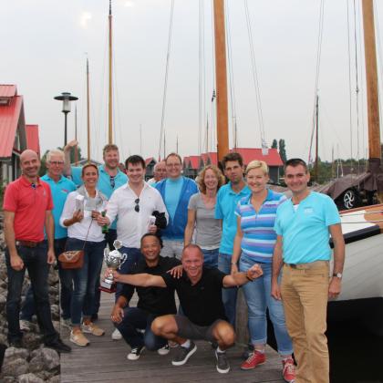 Team Logistiek eindigt als eerste op IMCC zeildag