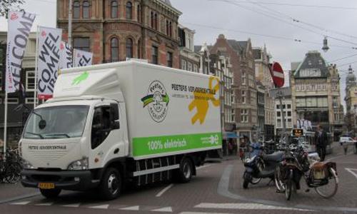 Waarom elektrisch vrachtvervoer niet doorzet