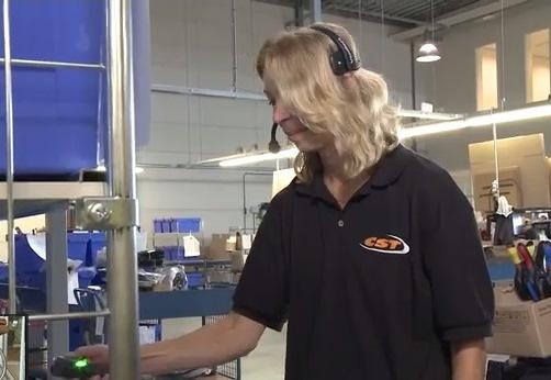 Kruitbosch-medewerker verwerkt 16 orders tegelijkertijd