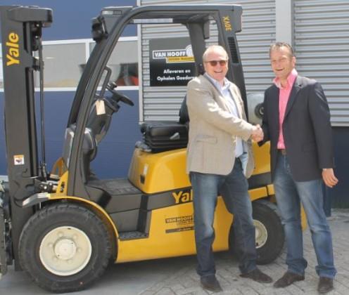 Van Hooff breidt dealerschap uit met Yale