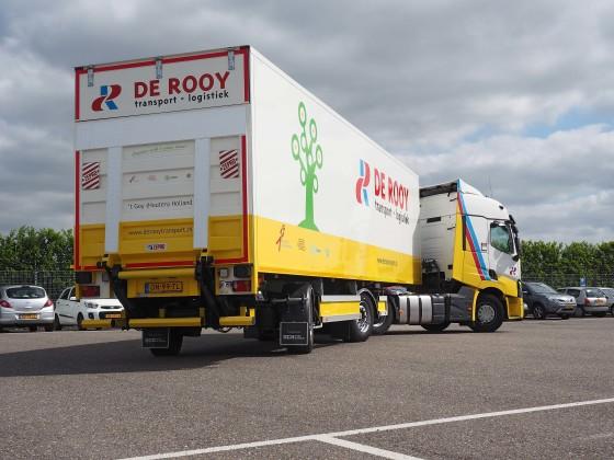 De Rooy lanceert innovatieve trailer