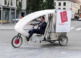 Belgische Bubble Post start in Amsterdam en Utrecht