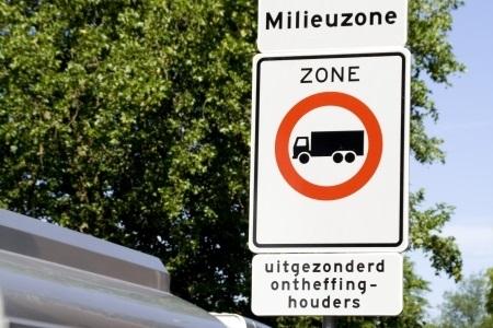 Milieuzones vanaf 2022 alleen toegankelijk voor Euro 6-trucks