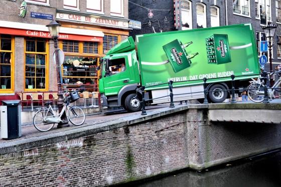 Heineken-distributie Simon Loos in Amsterdam 'elektrisch'