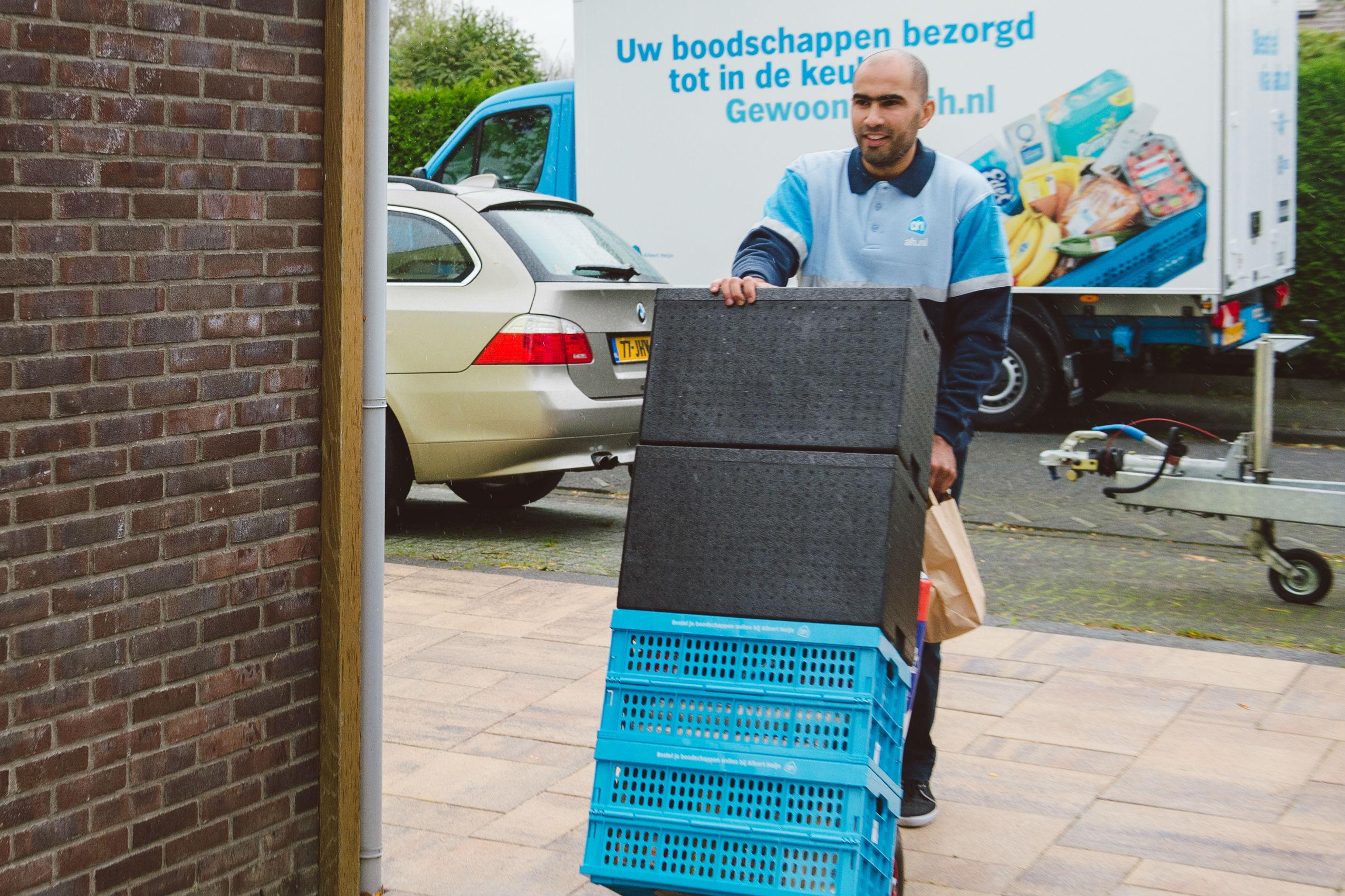 Albert Heijn opent 5e distributiecentrum voor thuisbezorging