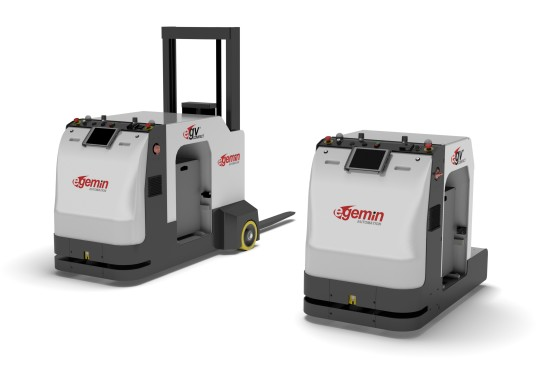Logistica: Egemin presenteert compact AGV-model