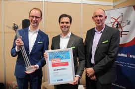 Neopost aan de haal met Logistica Award 2015