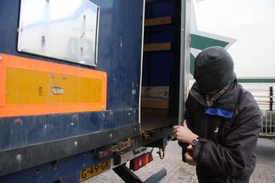 Ladingdiefstal Nederland daalt, Europa stijgt
