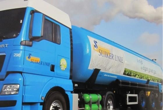 Suiker Unie live met routeplanning van AMCS