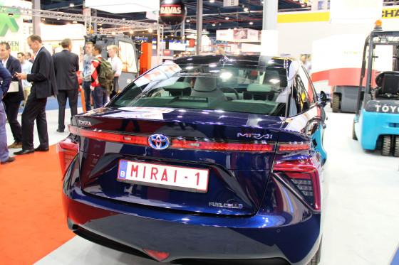 Brandstofcel bij Toyota in heftrucks en auto's