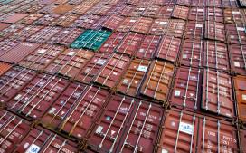 Containers zorgen voor recordoverslag Amsterdamse haven