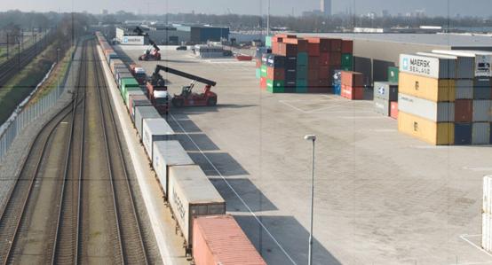 GVT maakt industrieterrein Tilburg per elektrisch spoor bereikbaar