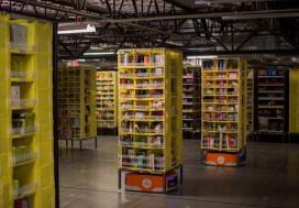 Amazon: 'Dit decennium nemen robots het warehouse niet over'