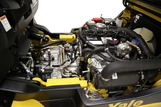 Yale vervangt LPG-motoren heftrucks