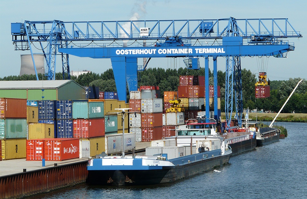 Oosterhout Container Terminal joins West-Brabant corridor to facilitate Rotterdam port