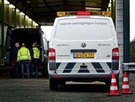 ILT verdenkt 400 transporteurs van oneerlijke concurrentie