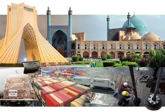 DB Schenker actief in Iran