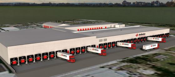 Tielbeke laat in fases nieuw logistiek centrum bouwen