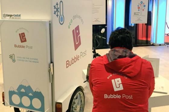 Bubble Post komt met gekoelde cargofiets