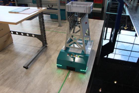 CeMAT: Bito presenteert gebruiksvriendelijke AGV 'Leo'