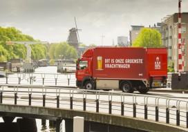 Heineken: meer 'groene' elektrische trucks in Amsterdam