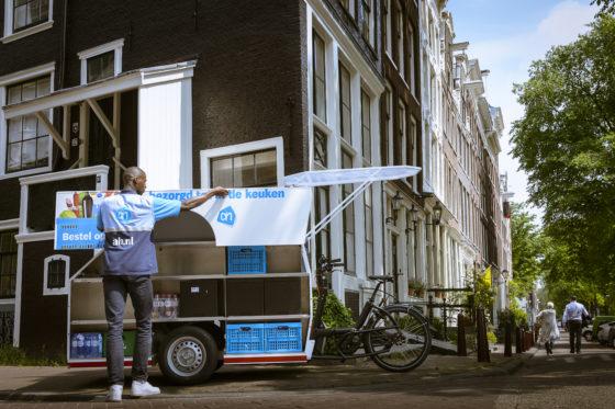 Albert Heijn gaat bezorgen per fiets