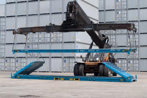 Inklapbare container krijgt  2,5 miljoen subsidie
