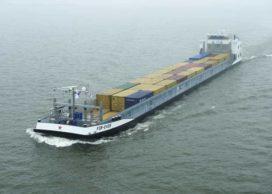 Nedcargo bouwt elektrisch containerschip voor vervoer Heineken