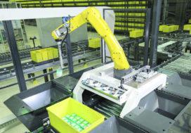 Robots krijgen vaste grip op magazijnen