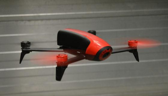 Drone telt voorraad Koopman Cargo