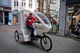 Bezorgbusjes e-commerce kunnen worden gehalveerd