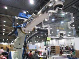 Pickrobot TU Delft wint sorteerwedstrijd van Amazon