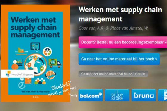 Boekrecensie: Werken met supply chain management