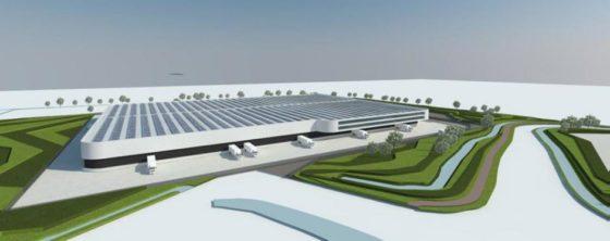 Nieuw dc Nedcargo krijgt 16.000 zonnepanelen