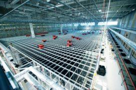 Egemin installeert voor het eerst Autostore in België