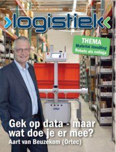 Cover septembernummer Logistiek