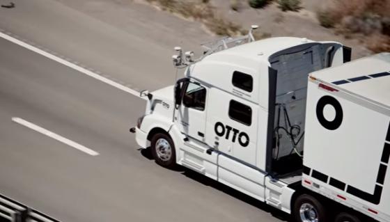 Uber maakt werk van autonome trucks