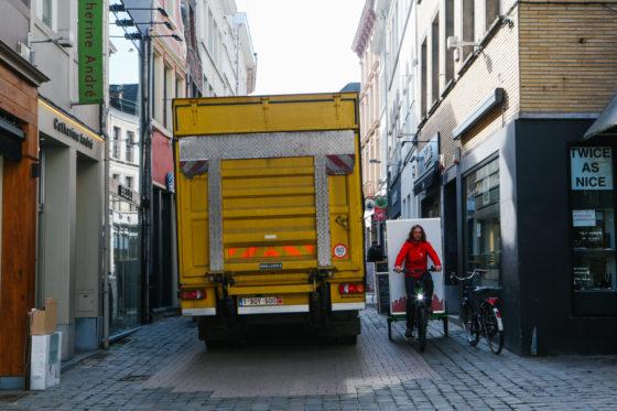 'Vrachtfiets is de toekomst voor stedelijke distributie'