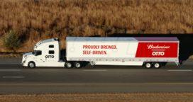 Eerste zelfrijdende Uber-truck vervoert 50.000 blikjes bier