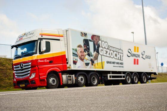 Simon Loos zoekt 100 chauffeurs